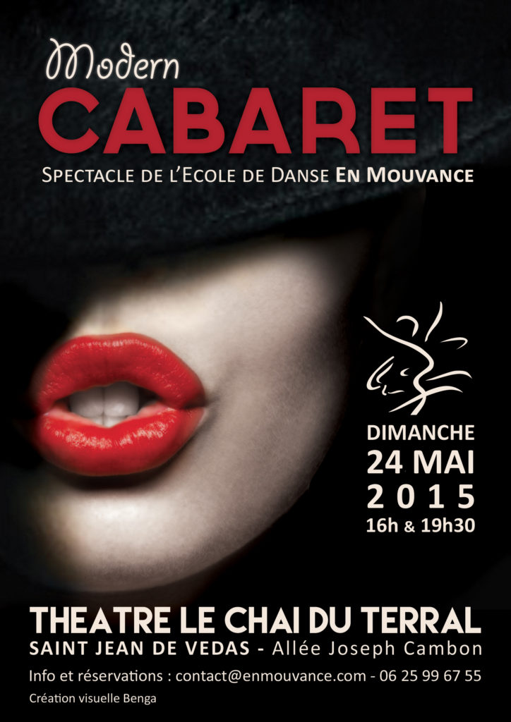 Affiche Spectacle Modern Cabaret