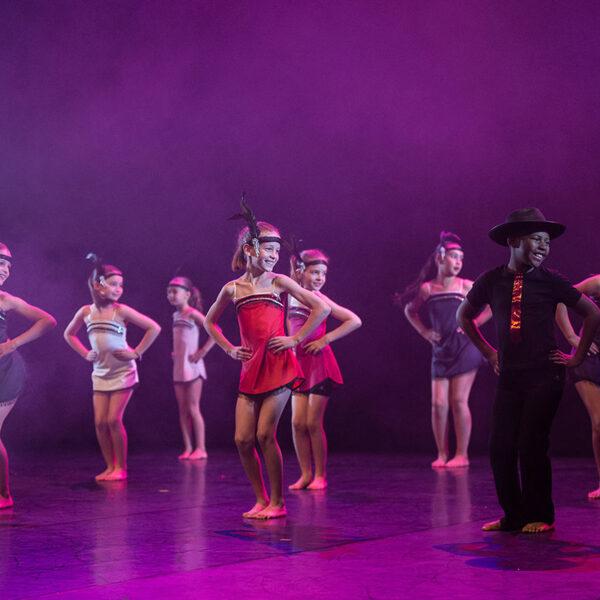 spectacle cours de danse Modern Jazz enfant