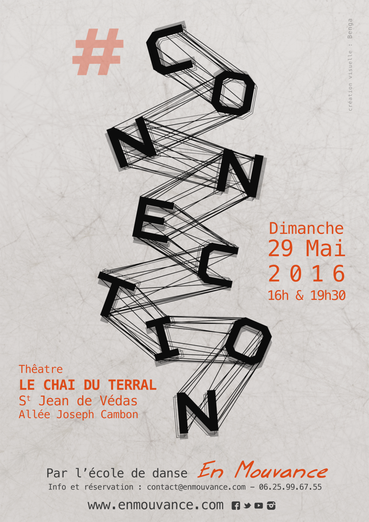 Affiche Spectacle Connection