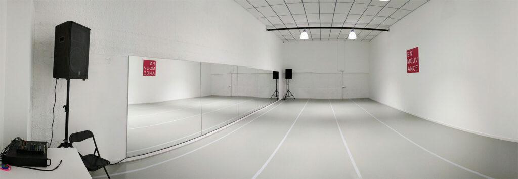 Salle de danse à louer 90m2