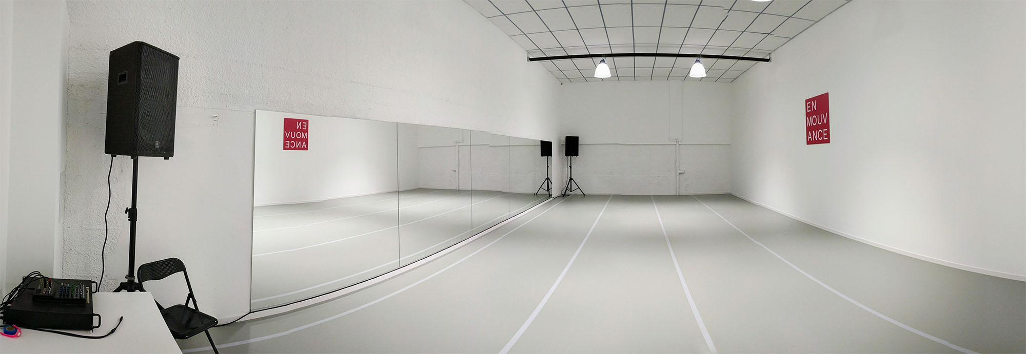Location de studios - Salle de danse à louer 90m2