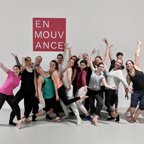 stage de danse En Mouvance Mars 2018 6