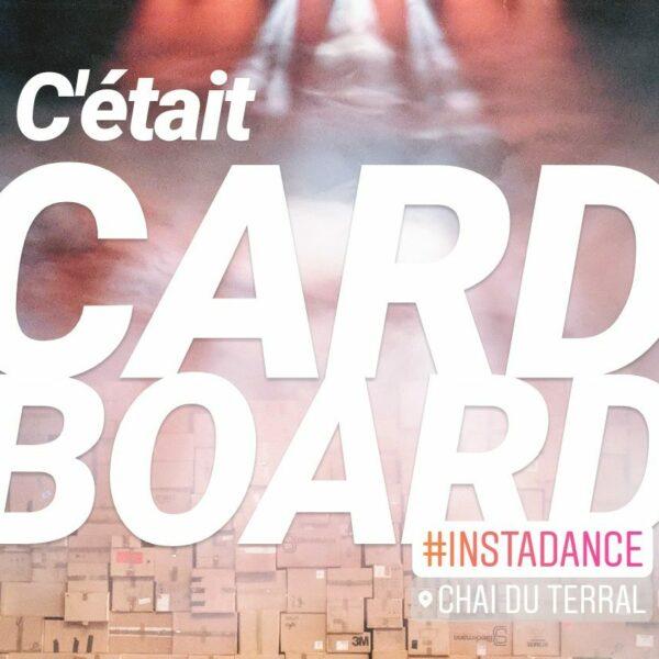 CARDBOARD, un spectacle de danse pas en carton 2