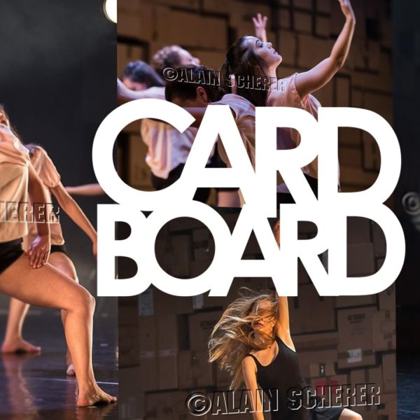 Les photos officielles du spectacle Cardboard sont disponibles. 1