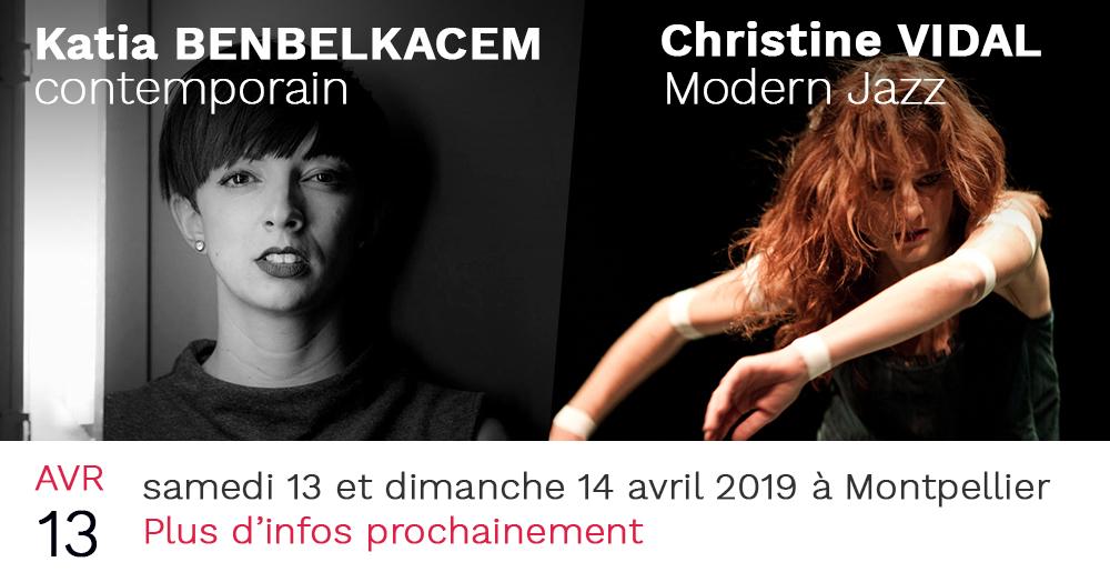 stage de danse en mouvance avril 2019