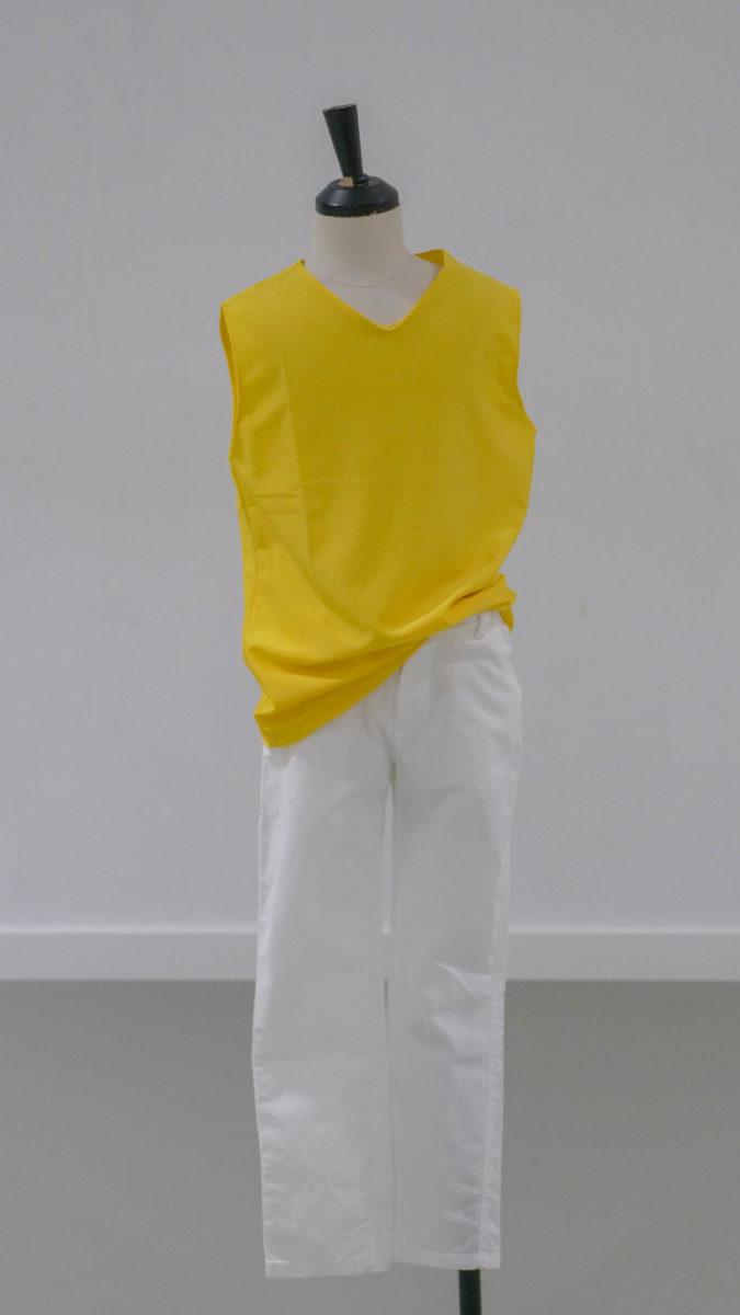 débardeur jaune