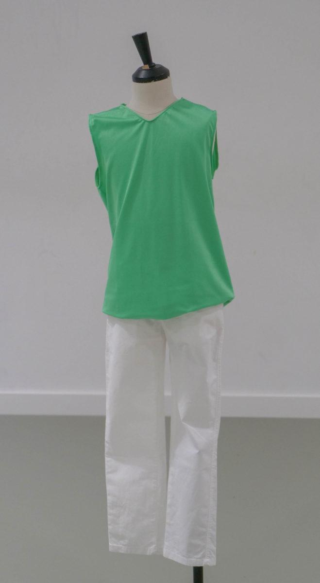 Débardeur vert et jaune (x 3) 2