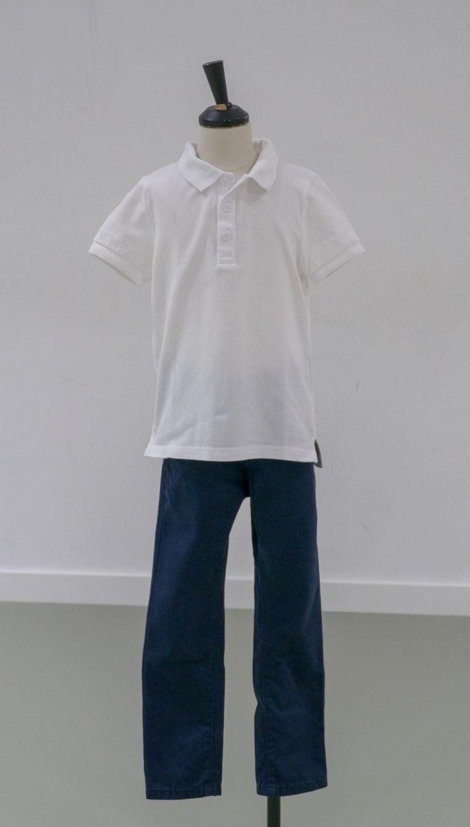 Polo blanc (x1) 2