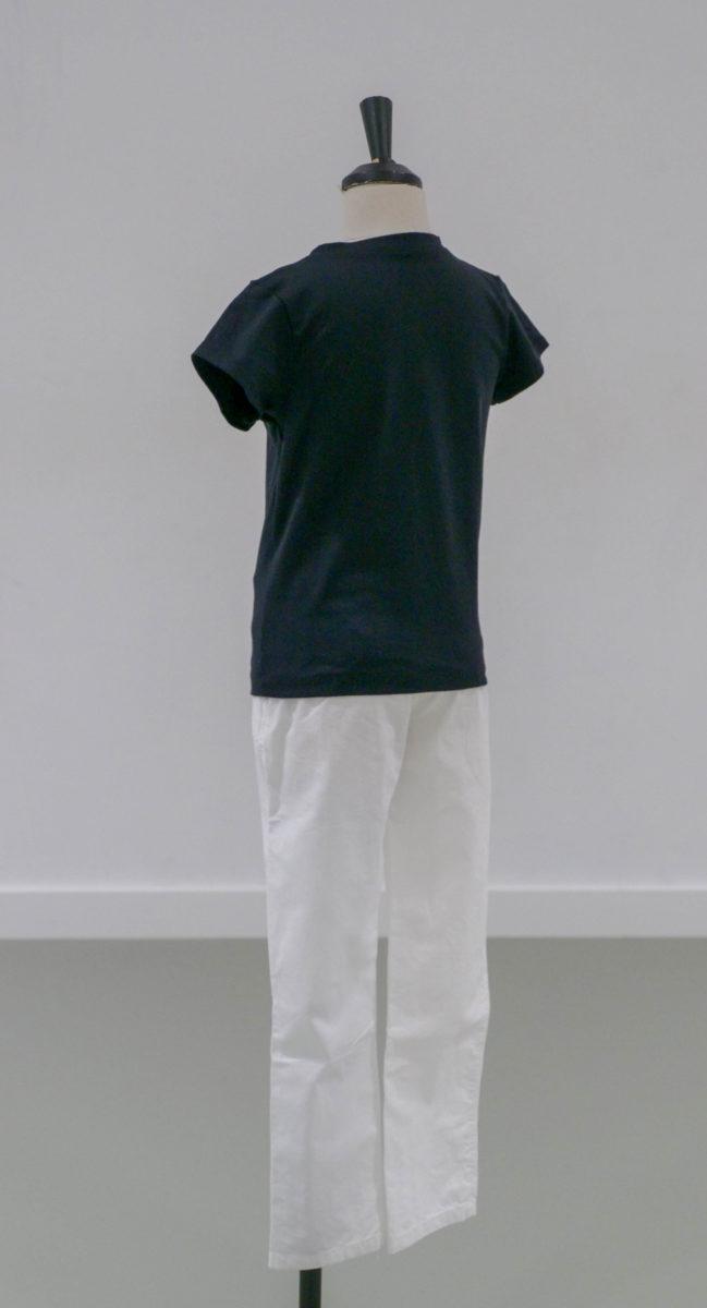 T-shirt Col V noir (x1) 1