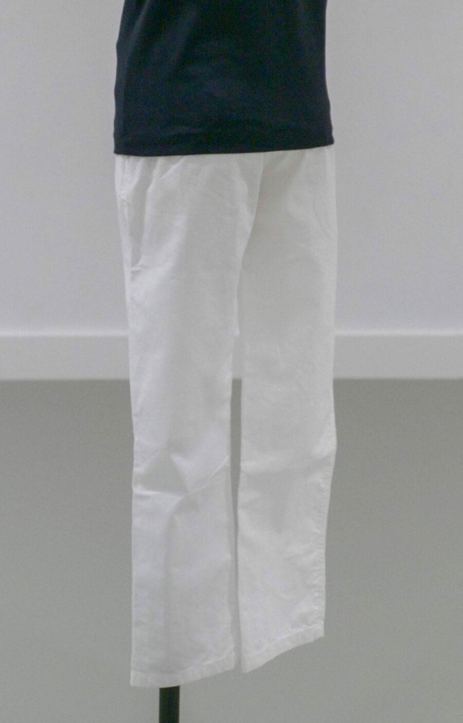 Pantallon blanc face