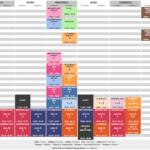 planning cours de danse-2020-2021