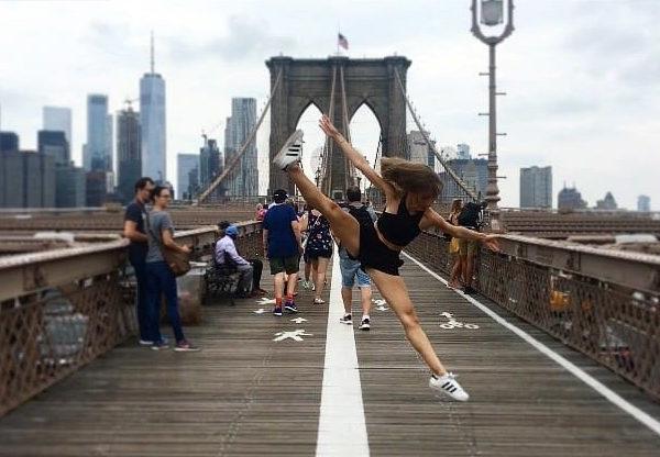 Sandy de Hullessen professeur de danse modern Jazz