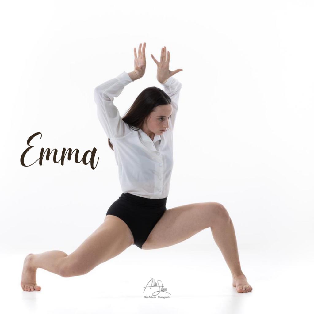 Emma entre en formation professionnelle.