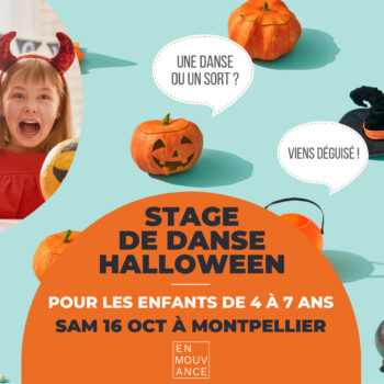 stage de danse Halloween